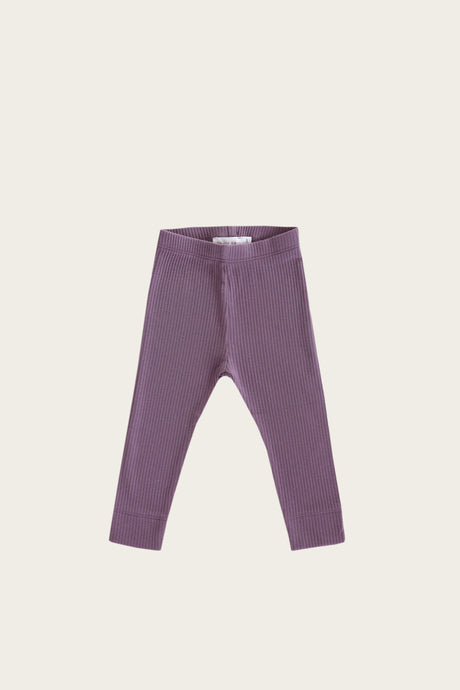 Jamie Kay - Organic Cotton Essential Leggings - Grape