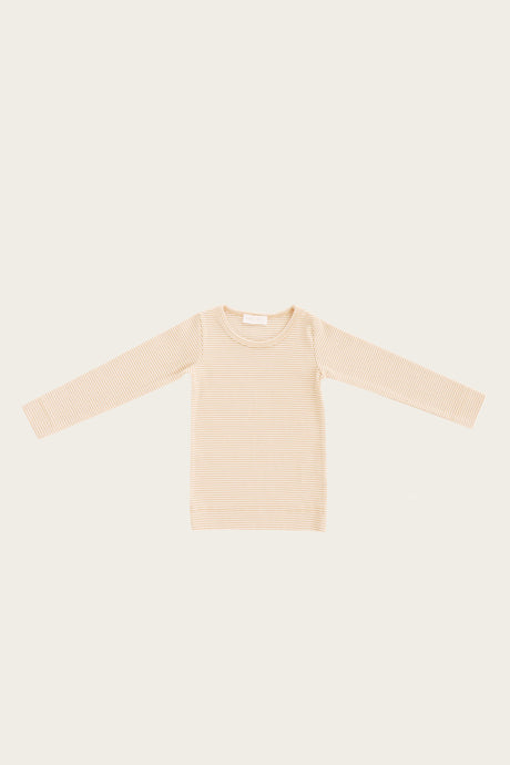 Jamie Kay - Organic Cotton Maddison Top - Peach Stripe