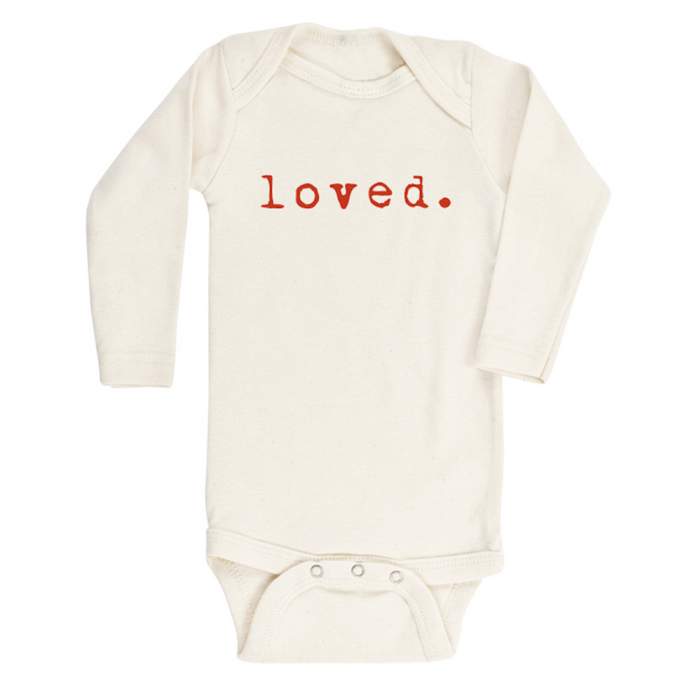 Tenth & Pine - Loved - Long Sleeve Bodysuit - Red