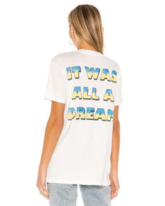 Biggie All a Dream Weekend Tee - Vintage White