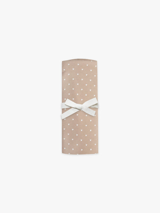 Quincy Mae - Organic Brushed Jersey Baby Swaddle - Petal