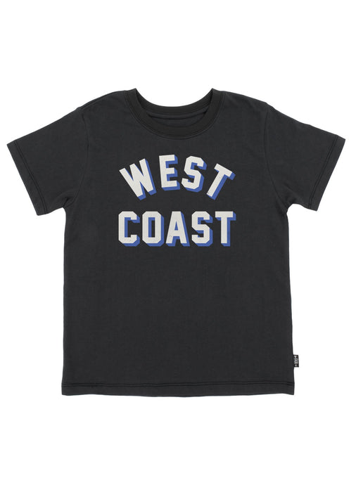 Feather 4 Arrow - West Coast Vintage Tee - Washed Black