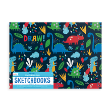 Load image into Gallery viewer, Ooly - Doodle Pad Duo Sketchbooks: Dino Days Set of 2