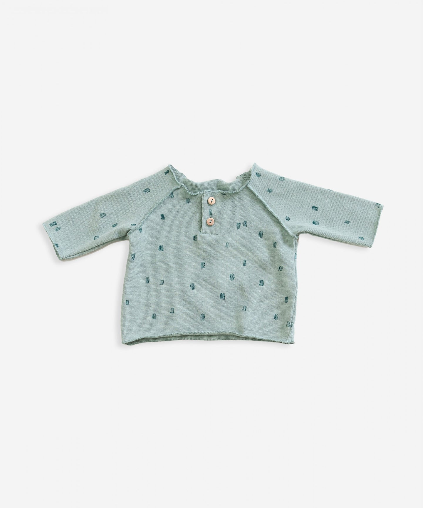 Play Up - Organic Cotton Long Sleeve Top - Bottle