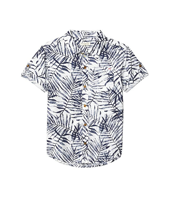Appaman - Pattern Shirt - Navy Areca