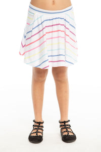 Chaser - Girls Cozy Knit Flouncy Skort w/ Pockets