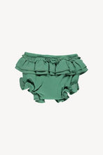 Load image into Gallery viewer, Fin & Vince - Organic Ruffle Bloomer - Schoolhouse Green
