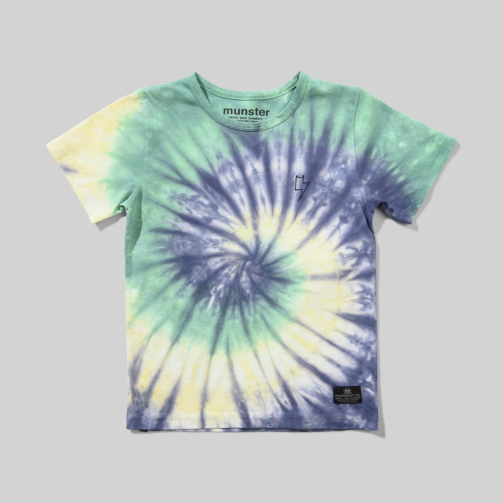 Munster Kids - Alley Tee - Green Dye