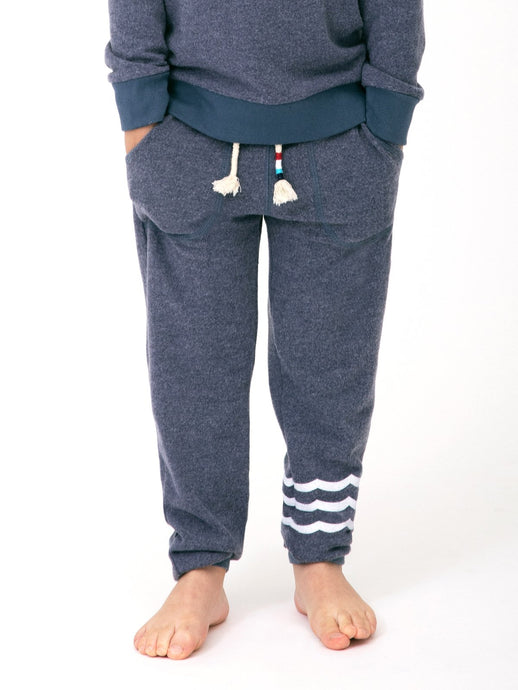 Waves Hacci Jogger Indigo