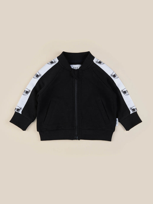 Hux Track Jacket - Black