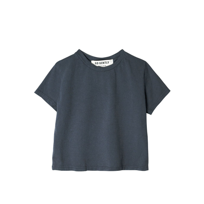 Go Gently Nation - Organic Solid Tee - Indigo
