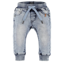Load image into Gallery viewer, Babyface - Boys Jogger Jeans - Light Blue Denim