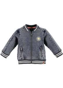 Babyface - Boys Sweat Cardigan Jean Jacket