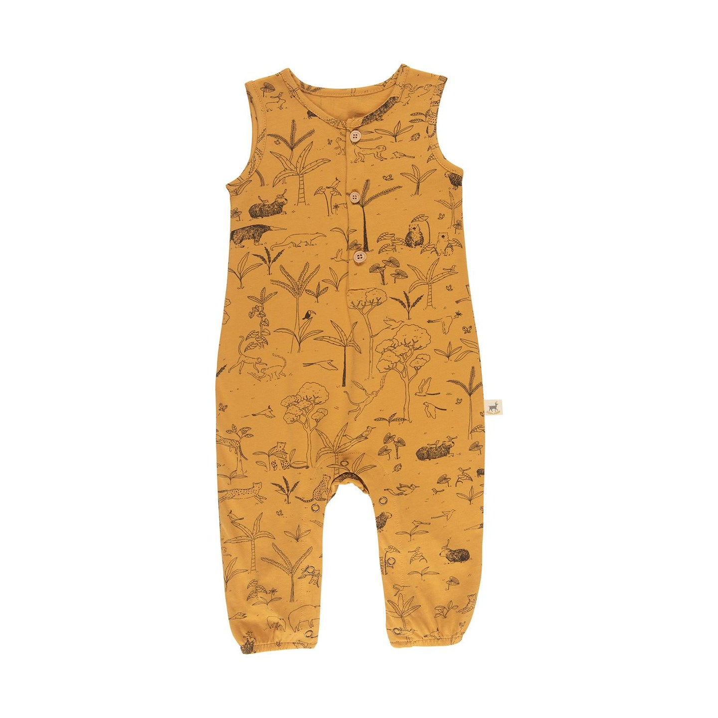Red Caribou Organic Tank Jumpsuit - The Story