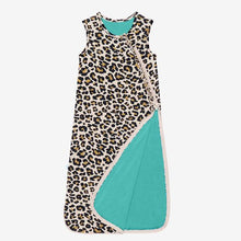 Load image into Gallery viewer, Posh Peanut - Lana Leopard - 1 Tog Sleeveless Ruffled Sleep Bag
