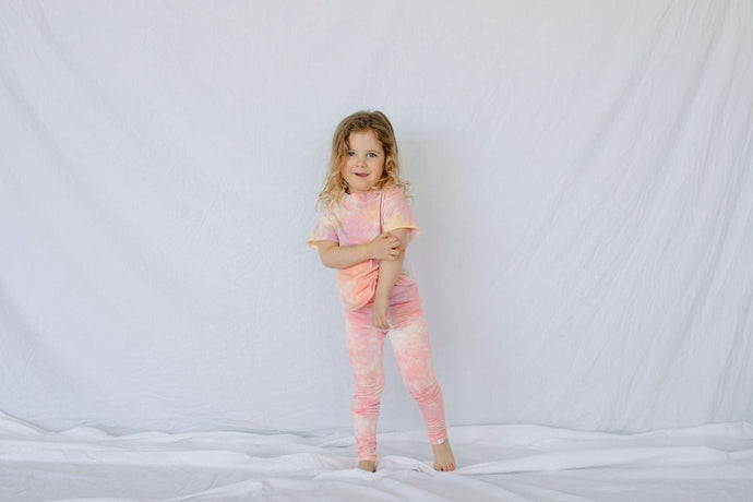 Little Moon Society - Bamboo Nicole Legging - Sherbert