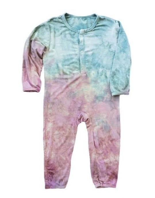 LIttle Moon Society - Bamboo Anderson Onesie Girl Blossom