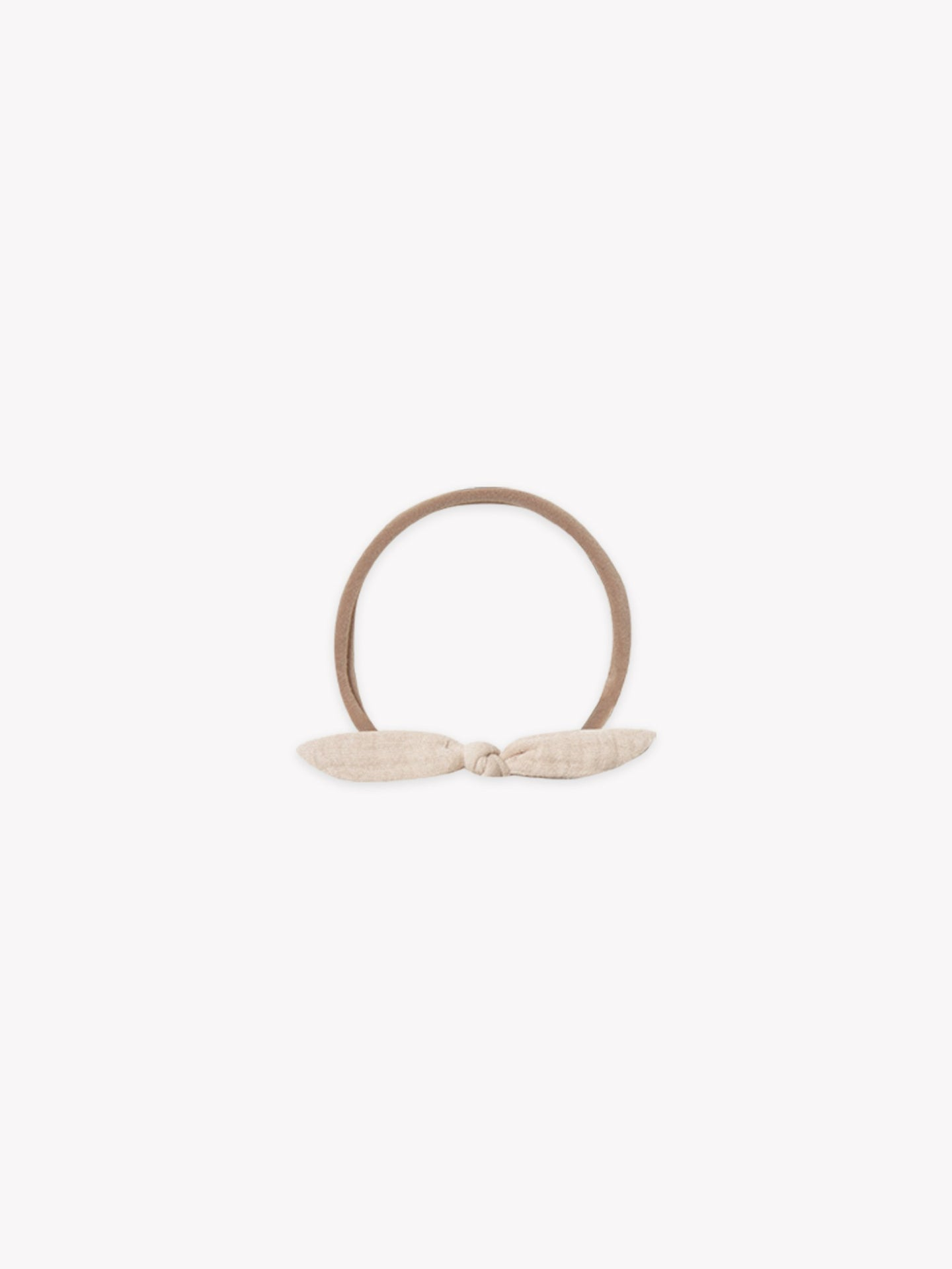 Quincy Mae - Organic Little Knot Headband - Pebble