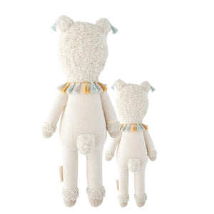 Lucas the Llama Hand Knit Cuddle + Kind Doll
