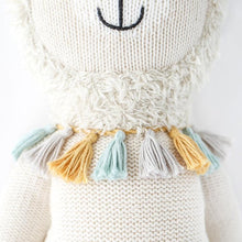 Load image into Gallery viewer, Lucas the Llama Hand Knit Cuddle + Kind Doll