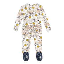 Load image into Gallery viewer, Posh Peanut - Maxine - Footie Ruffled Zippered One Piece