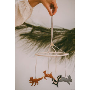 Donsje Mobile - Forest Animals