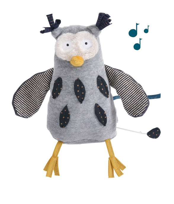 Moulin Roty - Musical Owl Les Moustaches