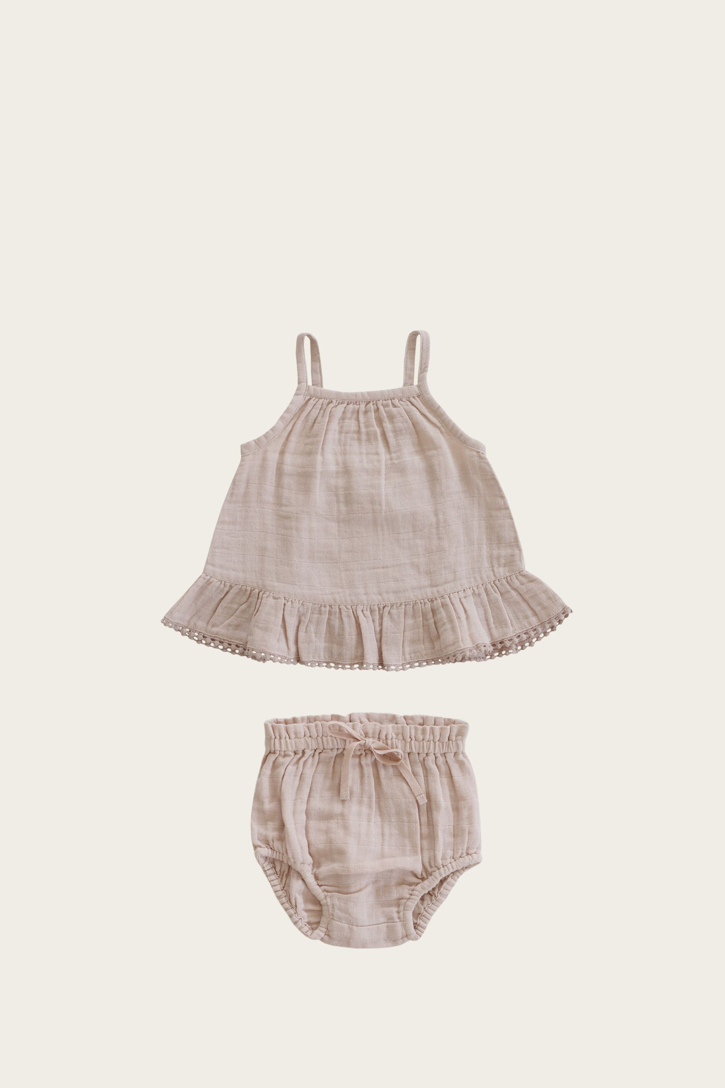 Jamie Kay - Organic Cotton Muslin Zoe Set - Rose Dust