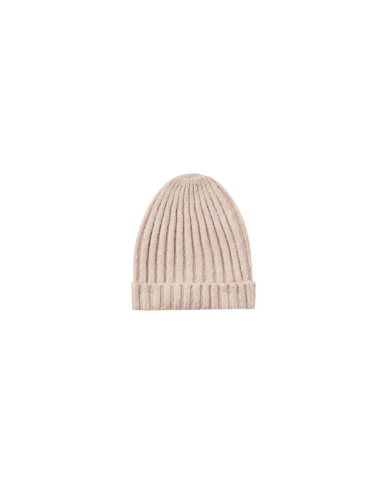 Rylee + Cru - Beanie Honeycomb Sweater Knit - Oat
