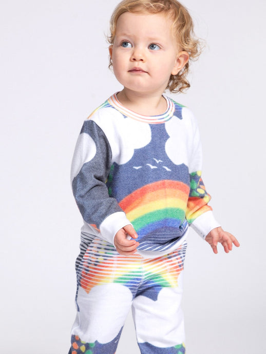 Sol Angeles - Over the Rainbow Hacci Pullover Infant