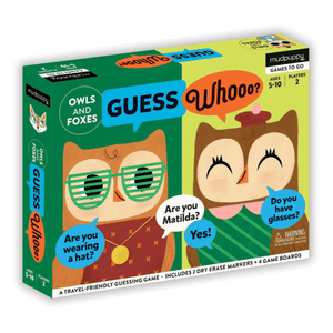 Mudpuppy - GUESS Whooo? OWLS AND FOXES