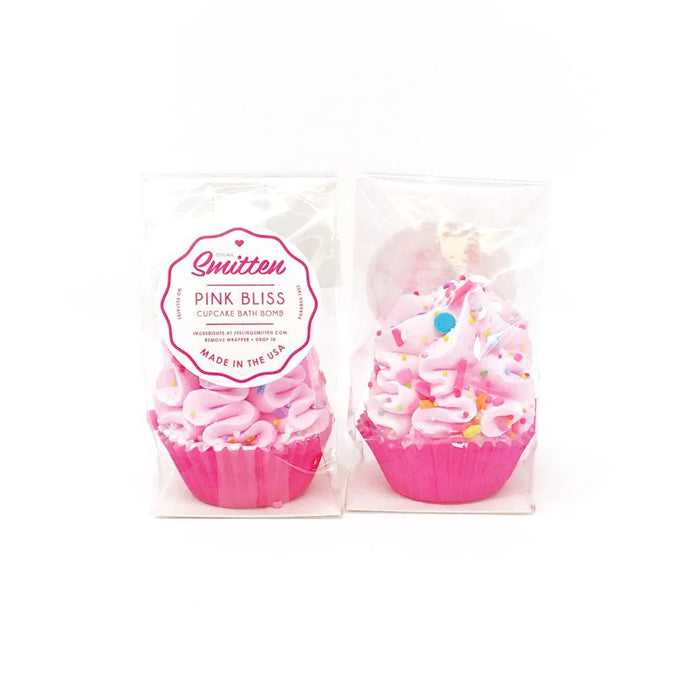 Feeling Smitten - Cupcake Bath Bomb - Pink Bliss