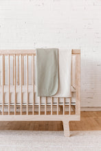 Load image into Gallery viewer, Quincy Mae - Organic Pointelle Baby Blanket - Pebble