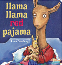 Load image into Gallery viewer, llama llama red pajama