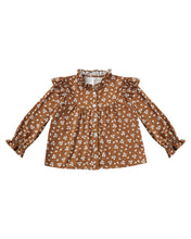 Load image into Gallery viewer, Rylee + Cru - Ditsy Roony Blouse - Cinnamon
