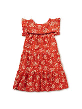 Load image into Gallery viewer, Tea Collection - Tassel Trim Dress - Scarlett Wildflowers