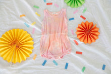 Load image into Gallery viewer, Little Moon Society - Bamboo Summer Romper Sherbert Infant