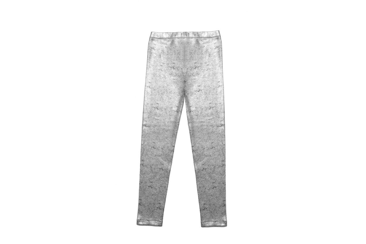 MIA New York - Metallic Legging - Silver