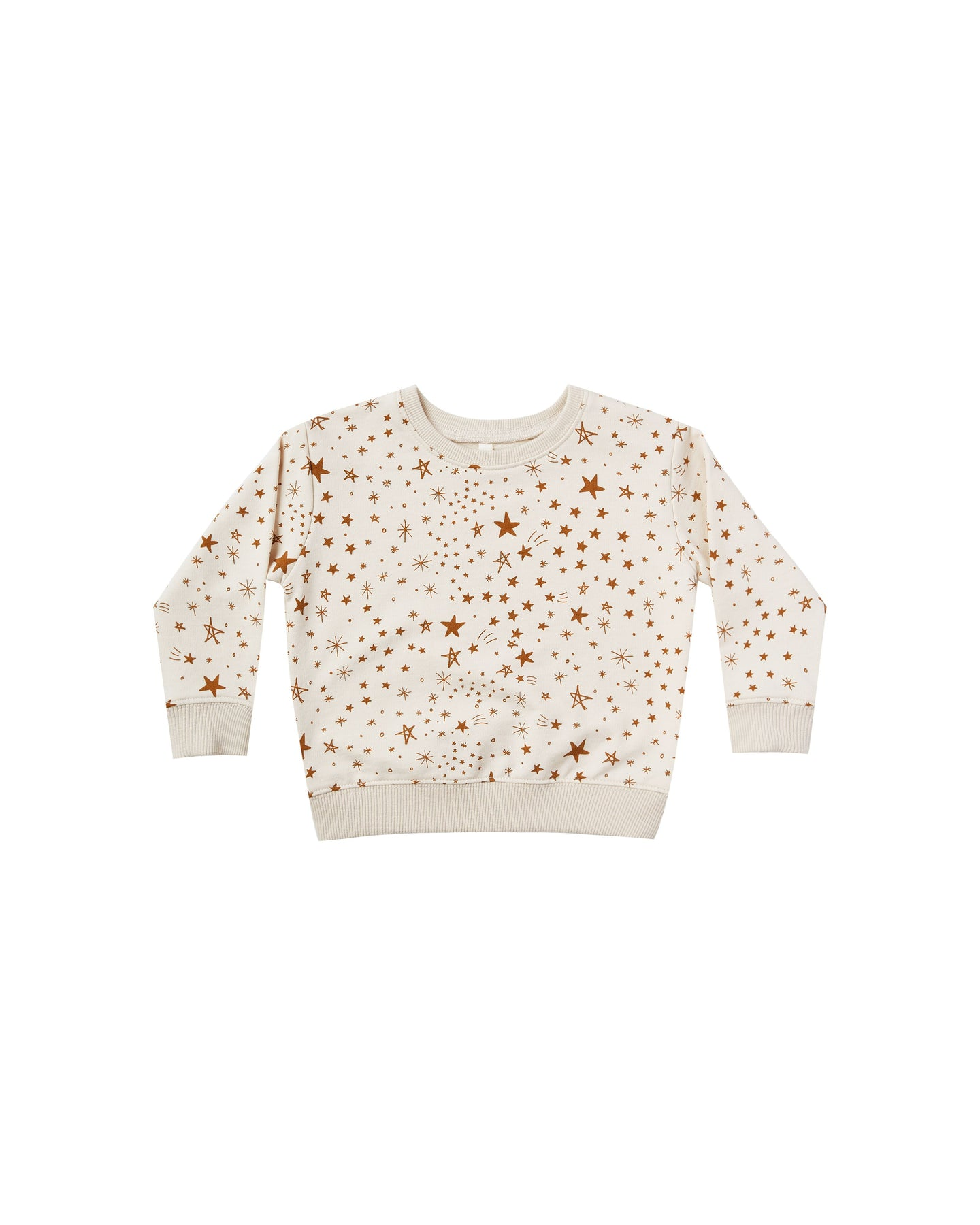 Rylee + Cru - Starburst Sweatshirt Frech Terry Fleece - Natural