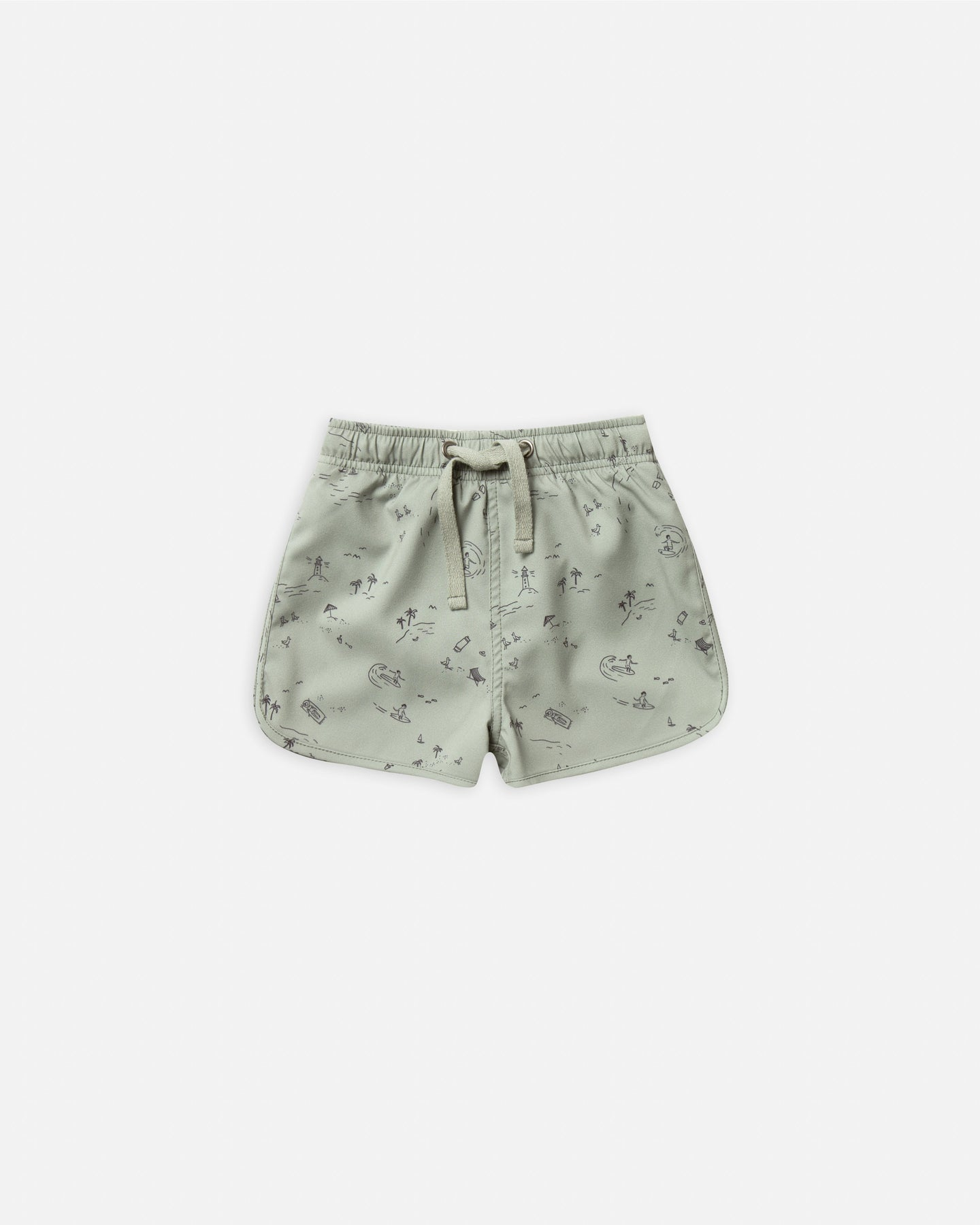Rylee + Cru - Beach Town Swim Trunk