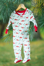 Load image into Gallery viewer, Pajamas For Peace - Trim a Tree - Plant a Tree Baby Neutral Footie