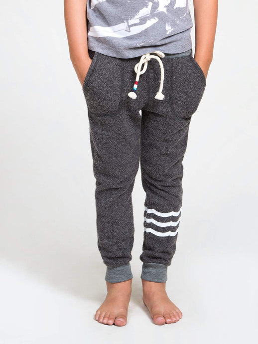 Waves Hacci Jogger - Vintage Black