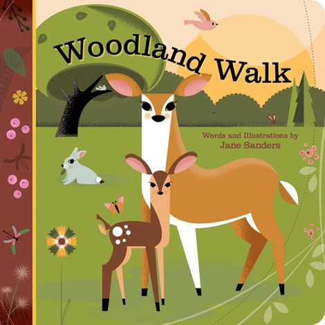 Woodland Walk Boardbook