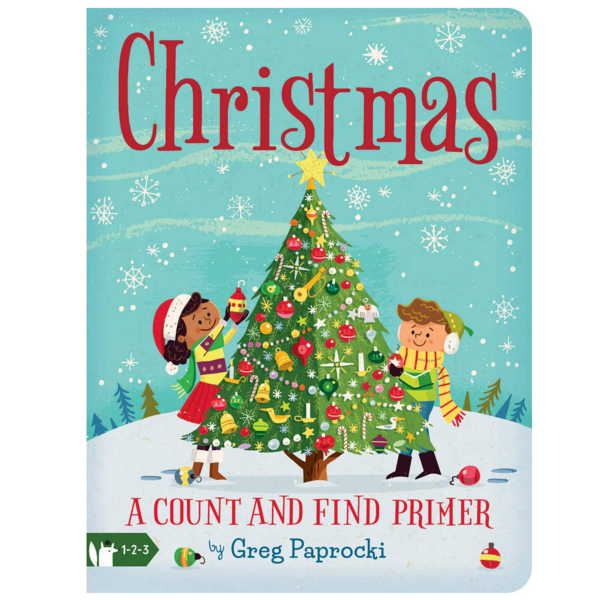 Christmas - A Count And Find Primer Board Book