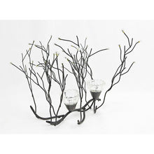 Load image into Gallery viewer, CONTEMPORARY ACRYLIC BEADED TWIG GLASS CANDELABRA - Galt International