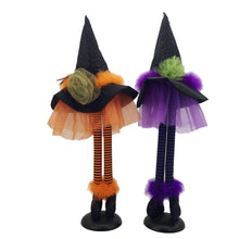 Load image into Gallery viewer, Pu/Or/ 2Astd Standing Witch Hat