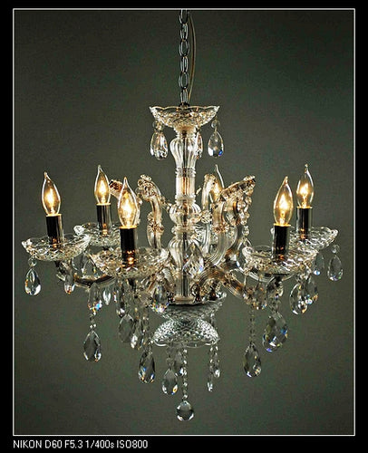 Nickle Chandelier 17.3