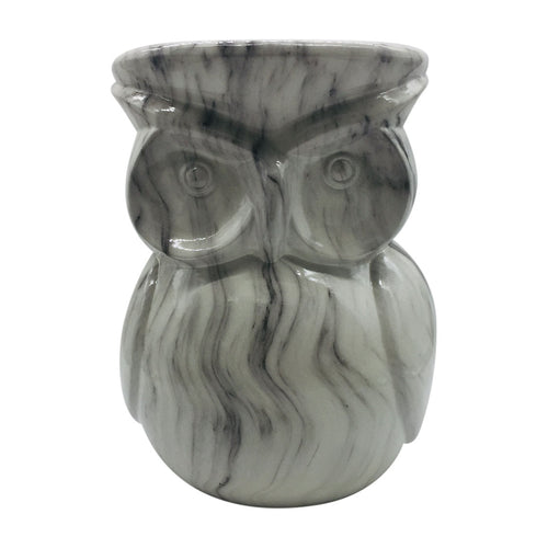 White Owl Garden Stool