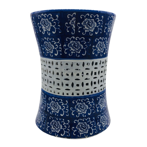 Chinoiserie Ceramic Garden Stool 18