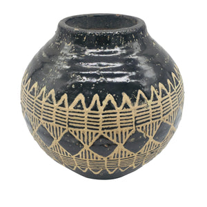 Tribal Ceramic Vase